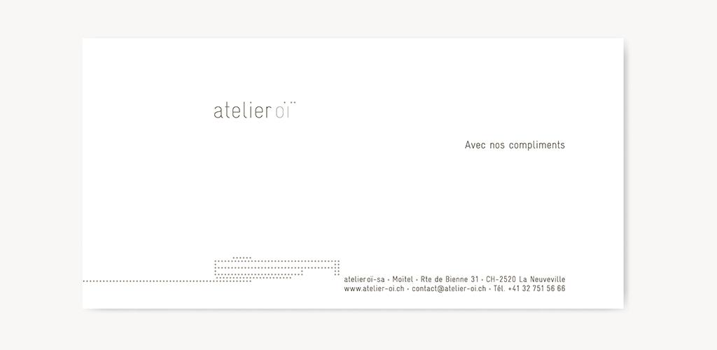 Projet Et Ralisation De Lidentit Visuelle Dun Client Priv Logotype Carte Visite Compliments Entte Lettre Enveloppe